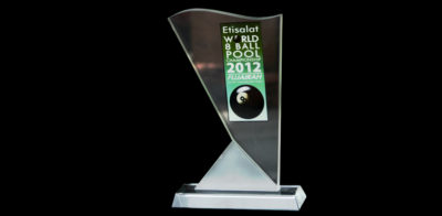 Award 04-Etisalat 8 World Ball Poll Championships Fujairah 2012
