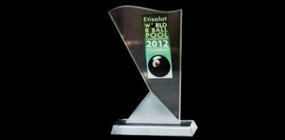 Award 04-Etisalat 8 World Ball Poll Championships Fujairah 2012